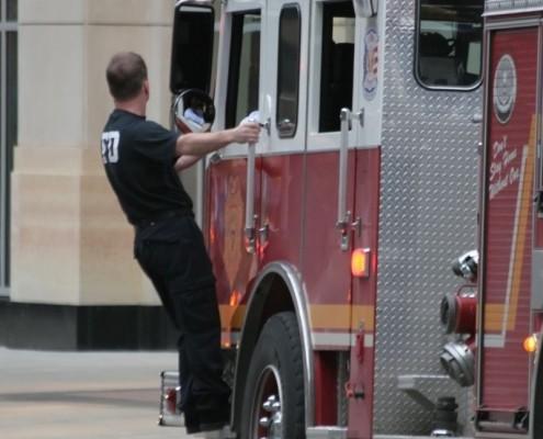Véhicule de secours - pompiers